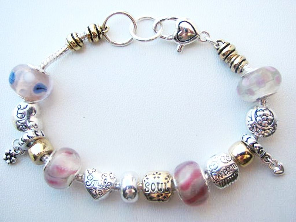 smile soul charm bead bracelet pandora